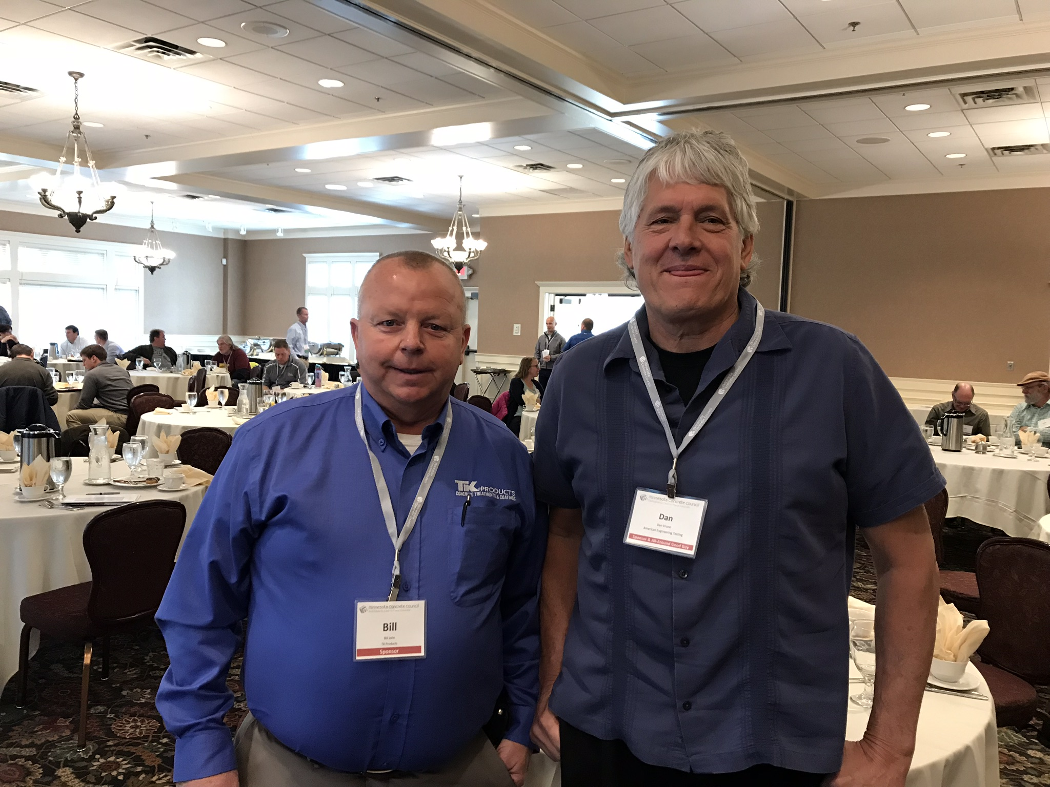 Bill John and Dan Vruno 2017 MCC Fall Symposium