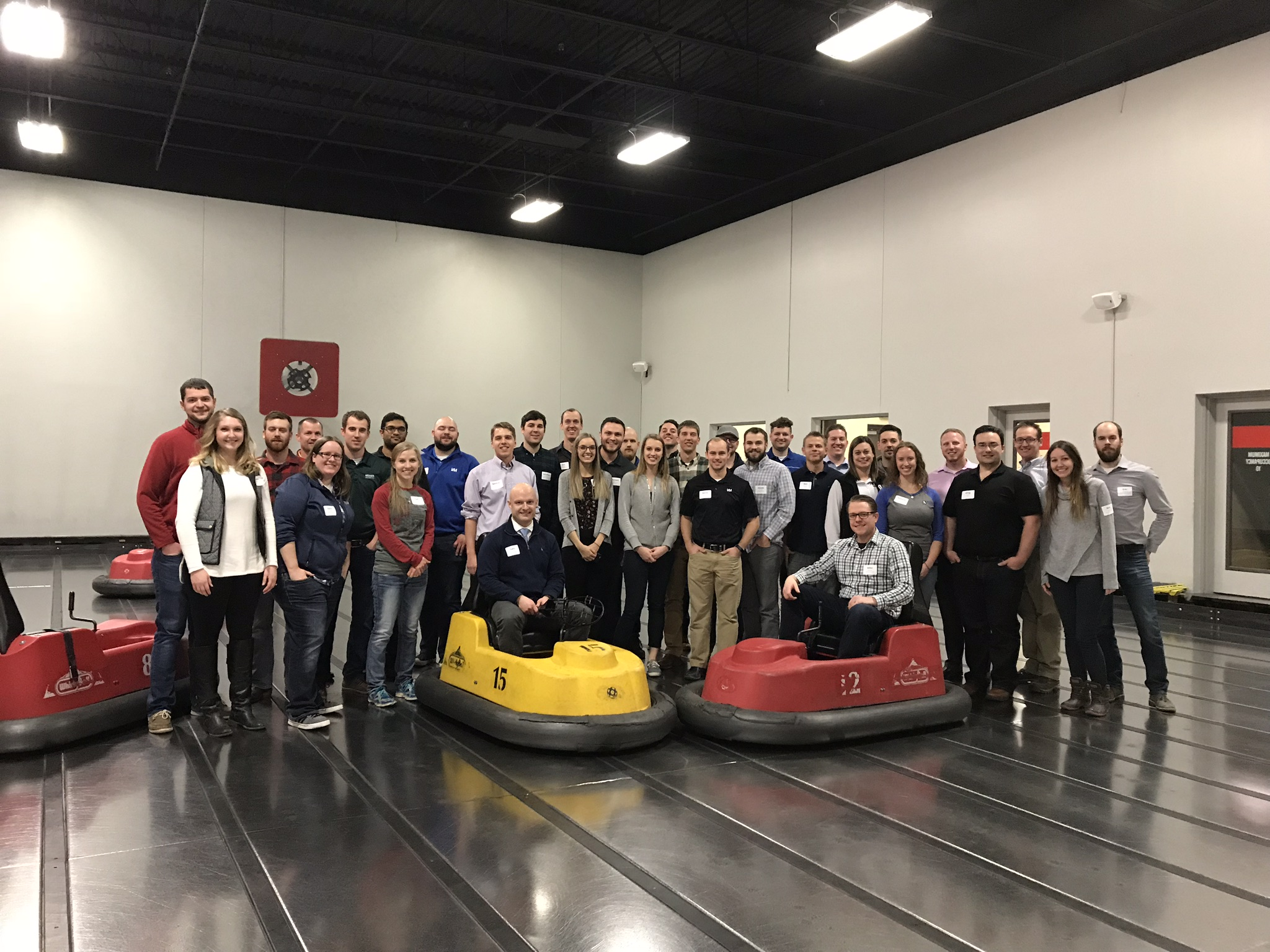 Younger Member Event Attendees Enjoy WhirlyBall