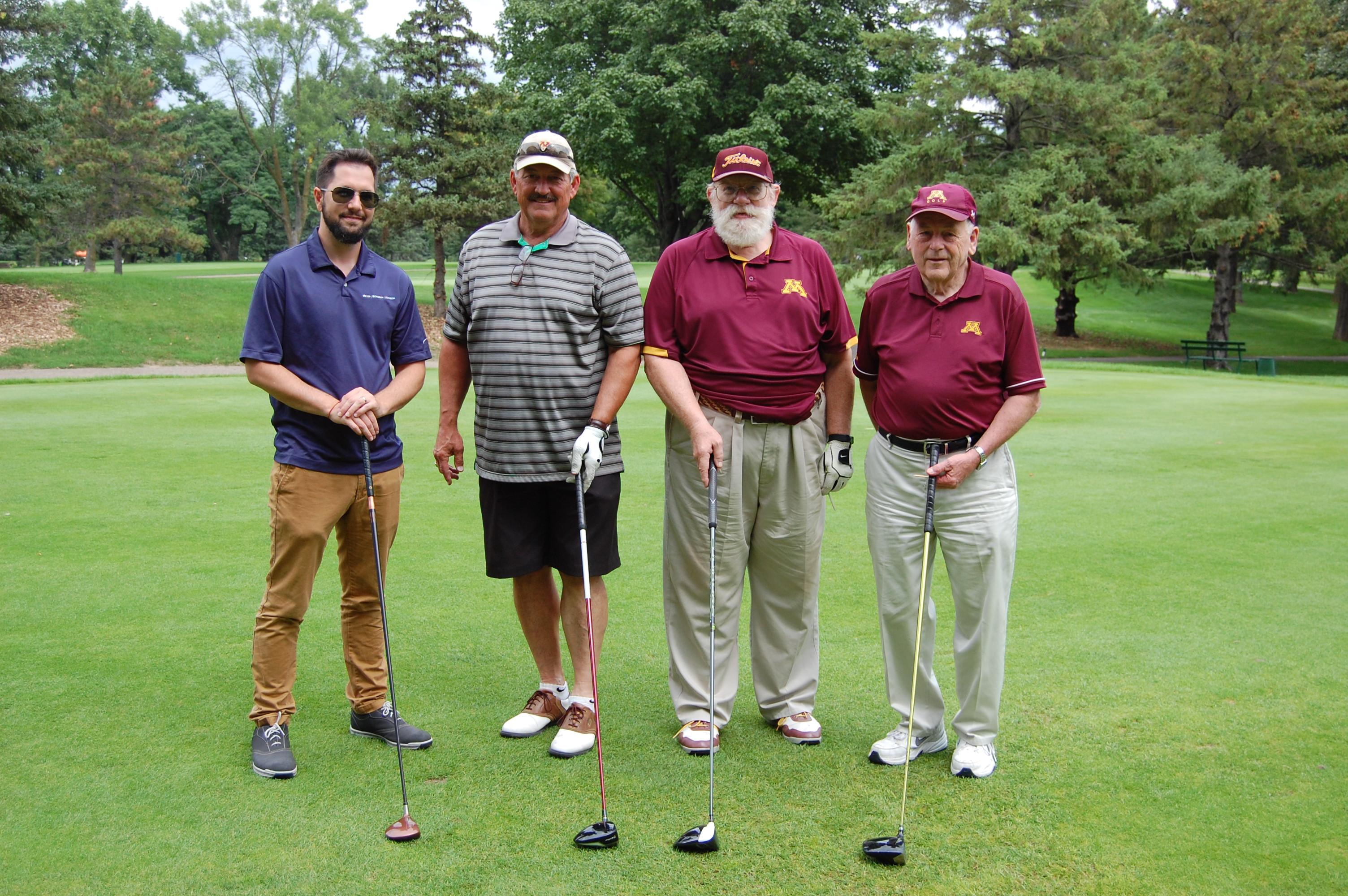 Mr President Golfing